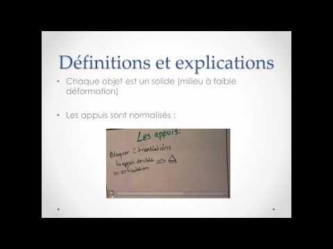 RDM résistance des matériaux : cours expliqué en vidéo - YouTube
