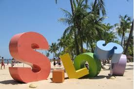 Image result for sentosa siloso beach