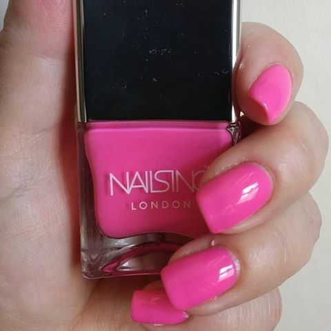 Nails Inc Gimme A Peck Nail Polish
