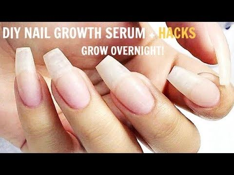 How To Grow Long Nails Fast In 5 Minutes Diy Natural Nail Growth Serum 100 Works Overnight Youtube Grow Long Nails How To Grow Nails Diy Natural Nails