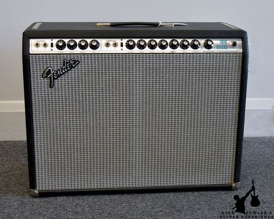 Vintage 1974 Fender Twin Reverb (Modded by Jeff Bober)