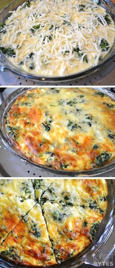 Spinach, Quiche and Mushrooms on Pinterest