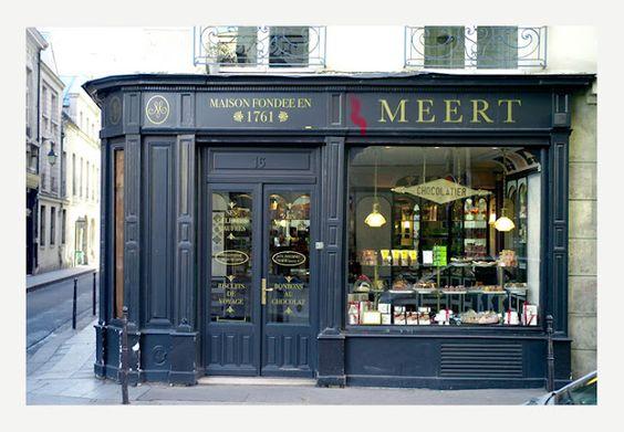 Meert Chocolatier- Paris, France