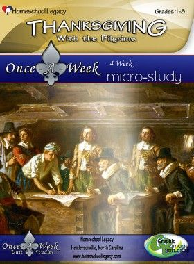 Thanksgiving with the Pilgrims Micro-Study
