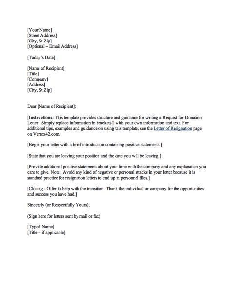 Reference Letter Template Free Sample Example Format