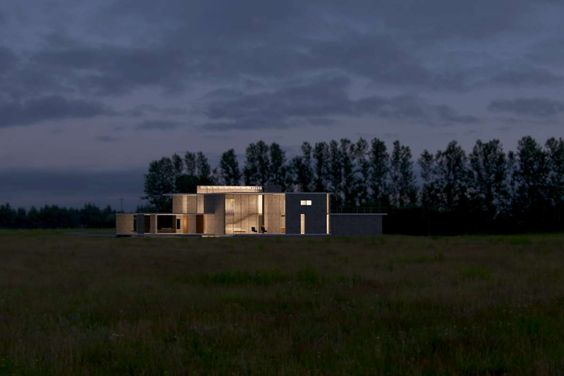 House in the Fields by http://SteveHallArchitecture.com