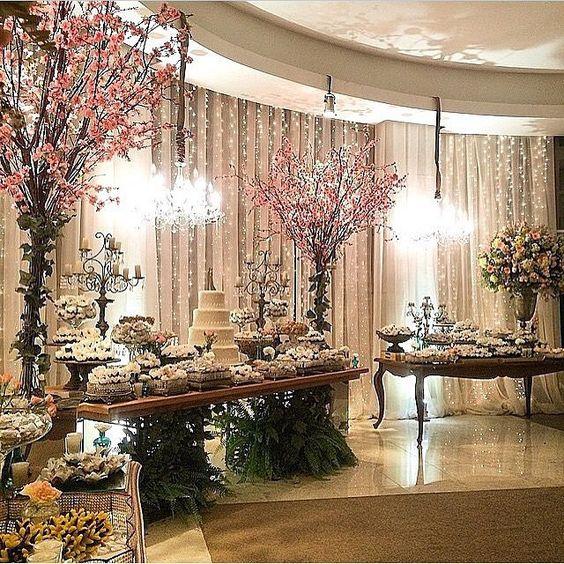 Galhos secos (Árvore Francesa) em decorações de Casamento - Blog Dani Vargas | Realize-se - O site do seu casamento