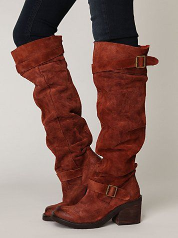 Free people tall boots.