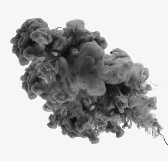 Black Smoke Png And Clipart Ink In Water Water Abstract Ink