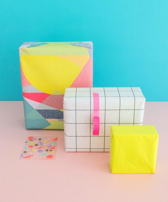 Gift Wrap Bundle Abstract Camo
