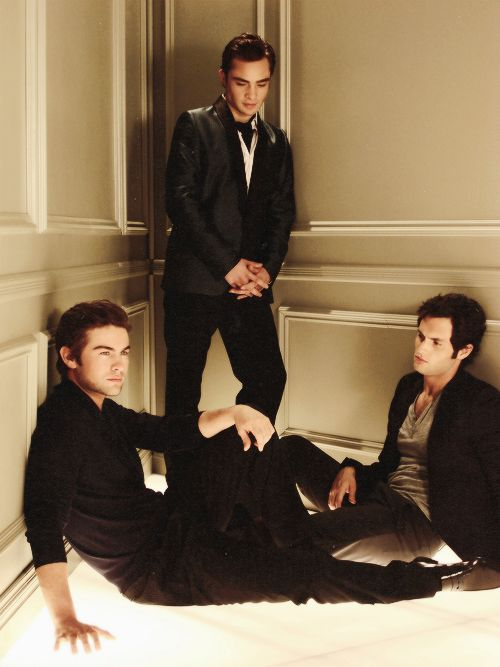 Gossip Girl: Chuck Bass, Nate Archibald, Dan Humphrey...the 3 hottest fictional…