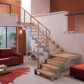 escalier quart tournant avec palier
