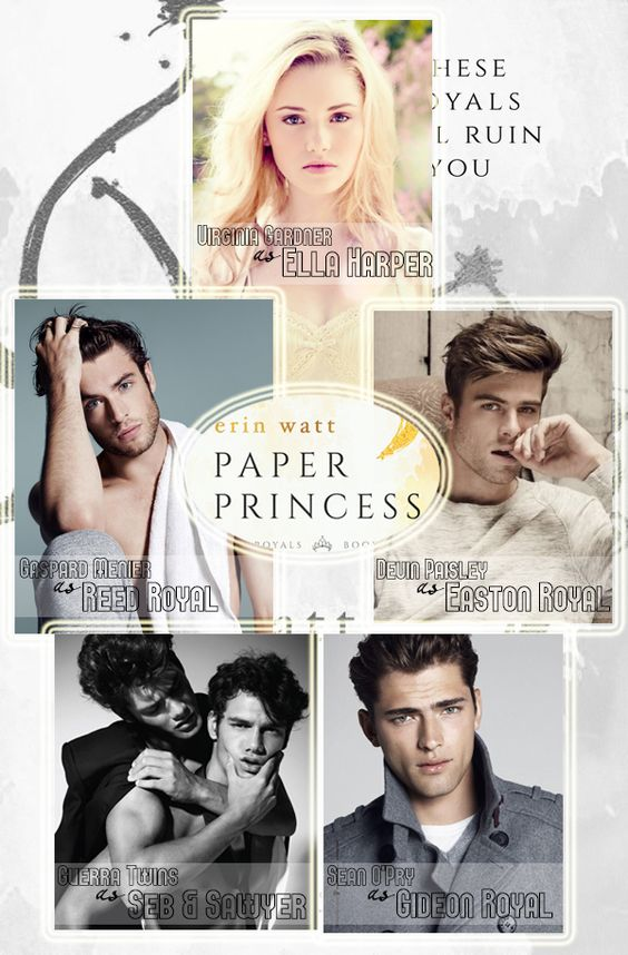 Dream Cast for Paper Princess (The Royals series) by Erin Watt