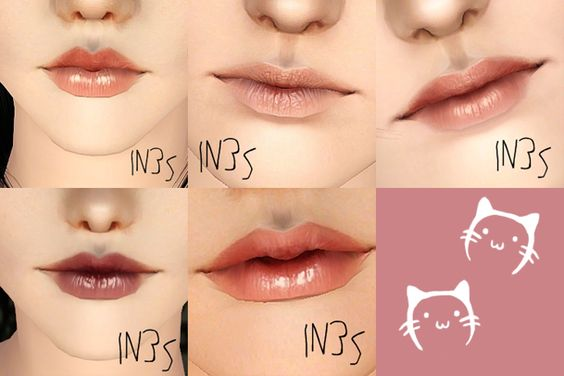 verakasthethird:   IN3S Lipsticks     I was... - Eris Sims 3 CC Finds: