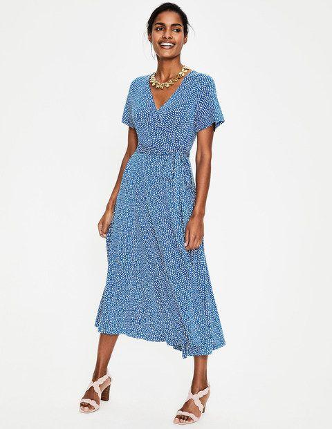 Cassia Jersey Midi Dress J0342 Day Dresses At Boden Smart Day Dresses Midi Dress Blue Midi Dress