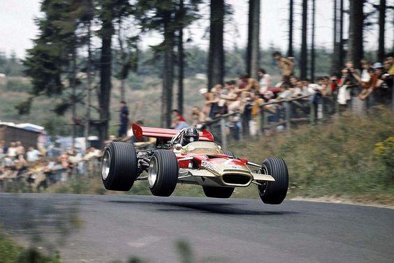 Graham Hill Lotus 49B Allemagne 1969