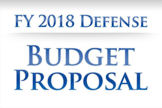 Special Report FY 2018 Defense Budget Proposal NATO Pinterest - budget proposal
