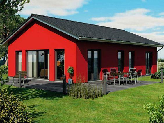 Skandinavischer bungalow  Modulhaus ICON 4.02 Bungalow • Bungalow von Dennert Massivhaus ...