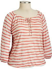 Women's Plus Size Clothes: Knit Tops   Old Navy
