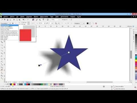 la herramienta sombra introduccion a coreldraw x6 x5 x4 curso guia manual tutorial course full hd descargar download web diseno design guide gr