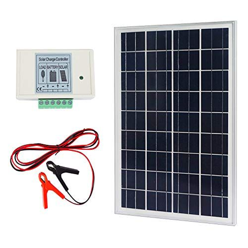 Eco Worthy 20w 12v Ip65 Solar Panel Kit 20w Off Grid Pol Https Www Amazon Com Dp B00pfgp0ea Ref Cm Solar Panel Installation Solar Panel Kits Solar Panels