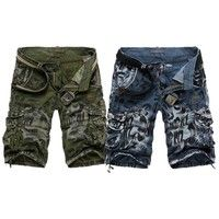 Jeansian Mens #Short Pant Trouser #Cargo Military Working #Fashion Trending #2 Colors 7 Sizes S201