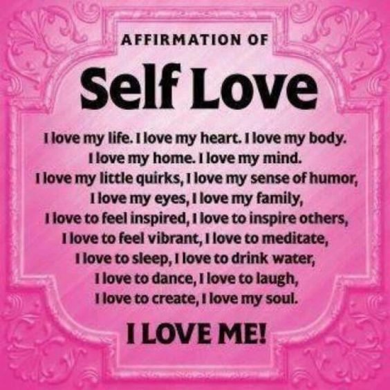 Get some self love people!