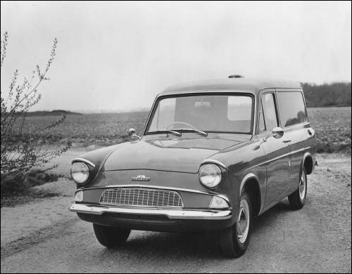 1962 Ford Thames Van Based Upon The 105e Anglia Ford Anglia
