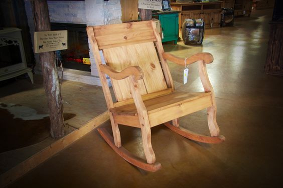 ... pine rocking rustic artisanal and more rocking chairs pine chairs
