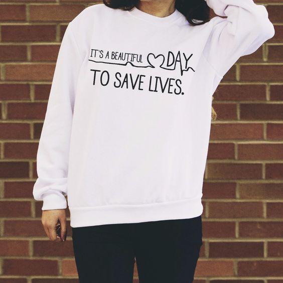 Grey's Anatomy sweatshirt