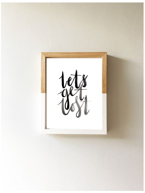 Lets get lost print A4 | Nursery Homeware Print Wall Art Black and White Monochrome by littlempapergoods on Etsy https://www.etsy.com/uk/listing/480419335/lets-get-lost-print-a4-nursery-homeware