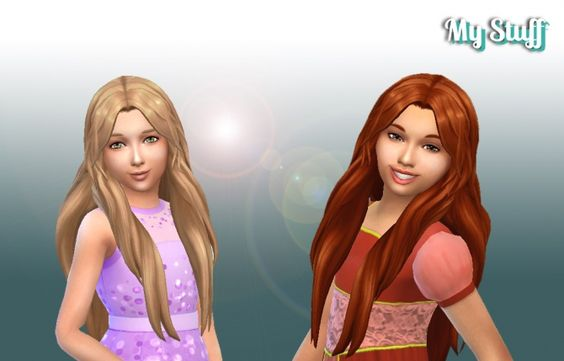 Enchanted Hair for Girls at My Stuff • Sims 4 Updates