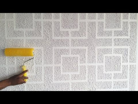 Brick Wall Painting Texture Design Youtube Wall Texture Design Wall Painting Texture Design