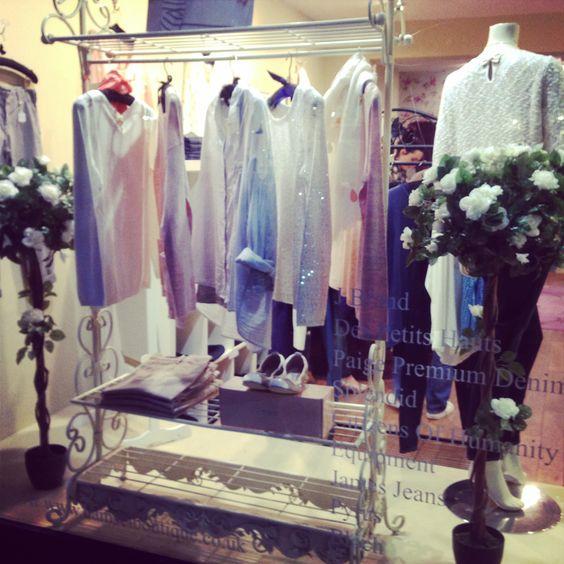 Spring Des Petits Hauts window at Damsel Boutique