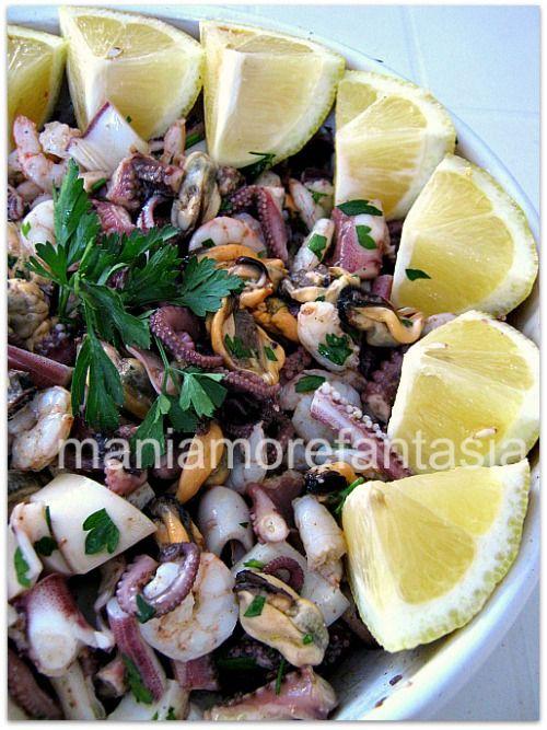 insalata di mare semplice   antipasti di mare   ricette pesce