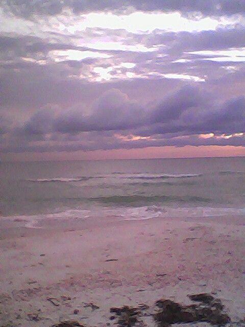 Sun set in clearwate florida
