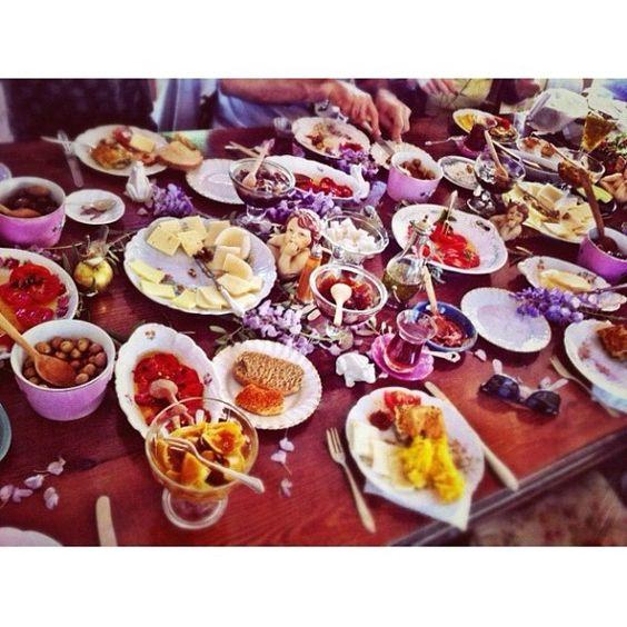 @iconjane | Breakfast at Bozcaada |
