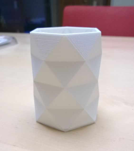 3D Printed Vase made by one of out Customer Mr.Jarkko Källbacka :)