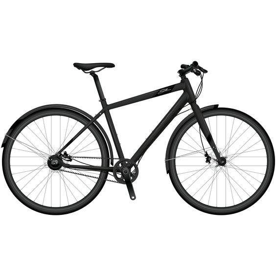 The SCOTT SUB Speed 10 is a modern urban bike that sports cool colors and requires low maintenance. The SUB 10 features a Gates belt drive, and is available with 8 speeds.