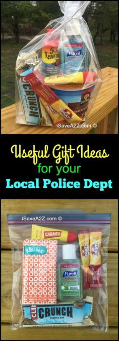 Small Appreciation Gift Ideas for your Local Police Department - iSaveA2Z.com
