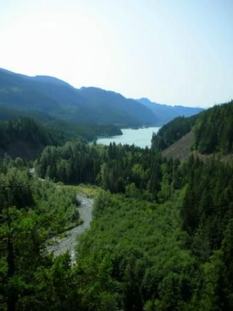 Brandywine Creek British Columbia | Brandywine Falls Provincial Park: LOOKING SOUTH AT THE END OF THE ...