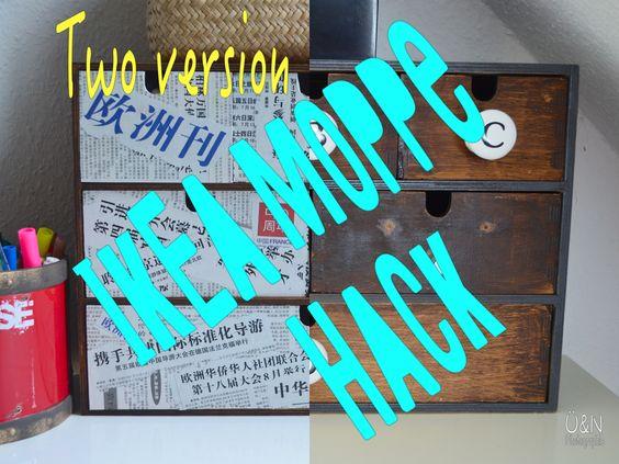 Überall & Nirgendwo: Two version Ikea Moppe Hack