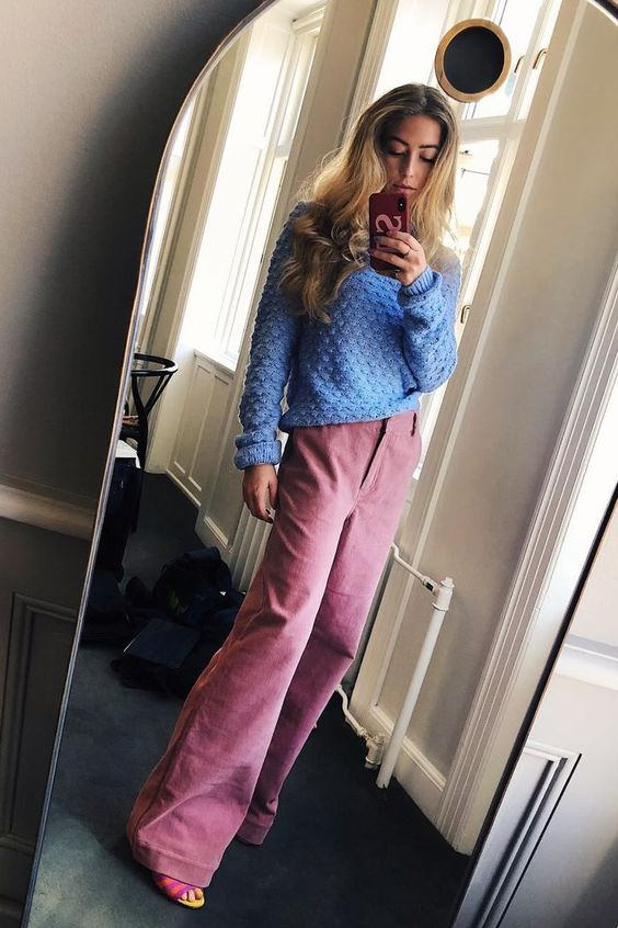 Bold sweater outfits to try