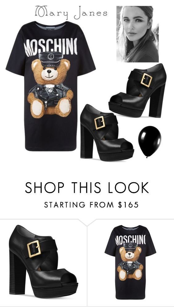"""""""Untitled #488"""" by mariaac2 ❤ liked on Polyvore featuring Michael Kors, Moschino and Alexander McQueen"""