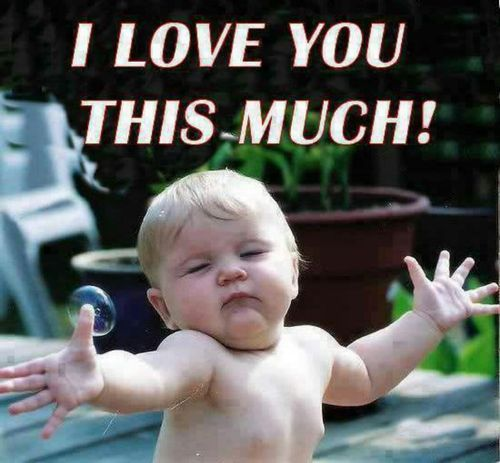 Love Memes Funny I Love You Memes For Her And Him Funny Baby Quotes Cute Baby Quotes Love You Meme