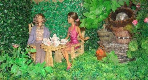 Мебель для кукол из прищепок - дачная. МК. Обсуждение на LiveInternet - Российский Сервис Онлайн-Дневников