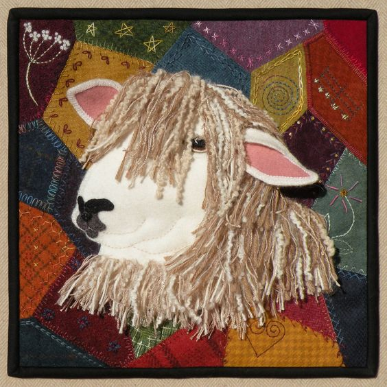 Meetinghousehilldesigns sew crazy for ewe a sheep quilt patterns pinterest wol ontwerp en - Appliques exterieures ontwerp ...