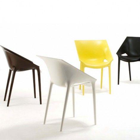 krzesła kartell Dr. YESt proj. Starck #krzesła #krzesło #brązowy #czarne #czarny #brązowe #plastikowe #tworzywo #meble #salon #jadalnia #taras #czarne #czarny #czarno #żółte #żółty #biały #białe #brązowe