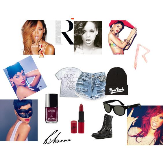 """Rihanna"" by heyjude-282 on Polyvore"