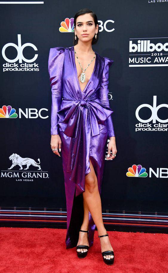 Dua Lipa: 2018 Billboard Music Awards: Red Carpet Fashion